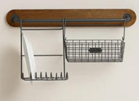 Cost Plus World Market Modular Storage Bar (Short) (attachments sold separately not include in recall)