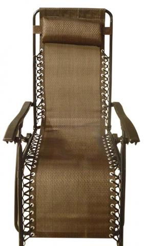 Bronze chair