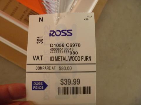 Retail hang tag