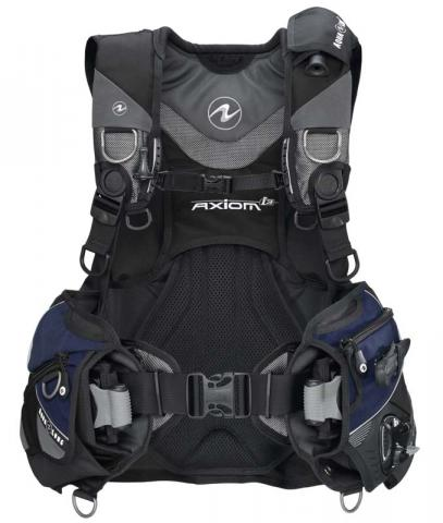 Aqua Lung Axiomi3 buoyancy compensator with weight pockets and handles