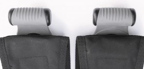 Recalled SureLock II weight pocket handles