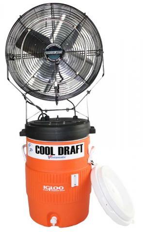 Cool Draft 15 gallon misting fan