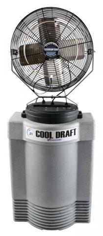 Cool Draft 40 gallon misting fan