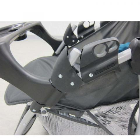 Stroller fold lock (side view)
