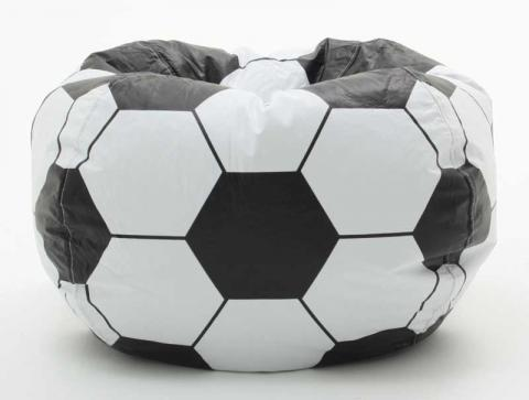 Comfort Research Bean Bag Chair in Soccer Theme