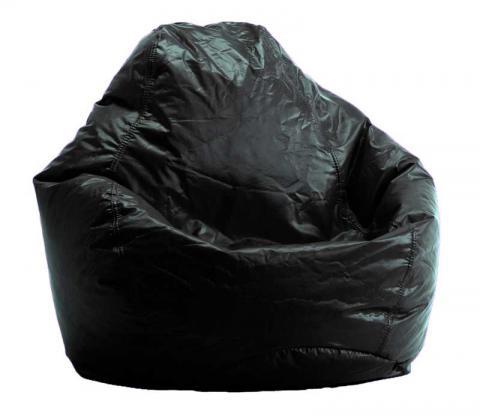 Comfort Research Bean Bag Chair in Black