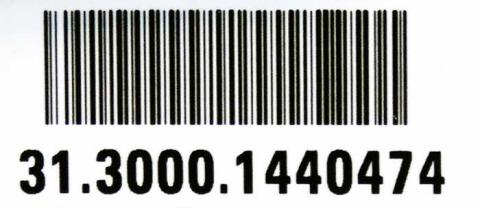 Example of a recalled serial number located on white sticker on the bottom of the brewers