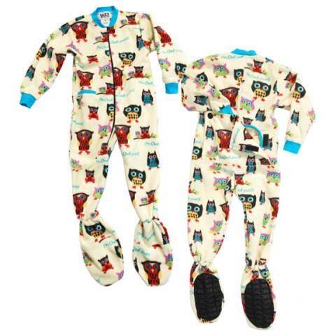 Recalled Lazy One footed pajamas