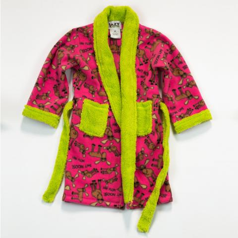 Recalled Lazy One pink robe