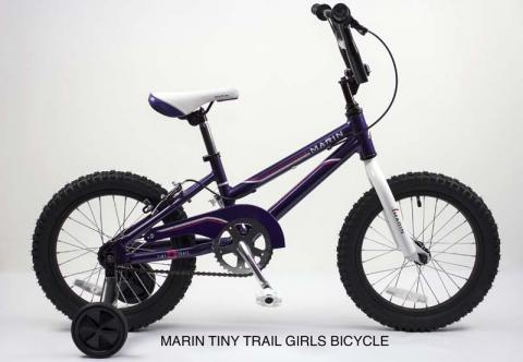 Marin Tiny Trail Girls Bicycles