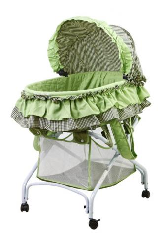 Bassinet model #439G – 2-in-1 Cradle to Bassinet.