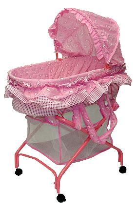 Bassinet model #439P – 2-in-1 Cradle to Bassinet.