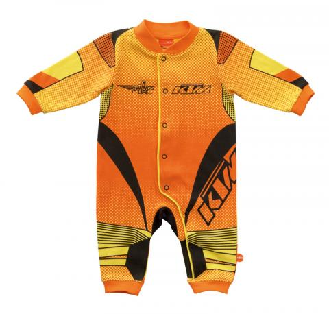 Orange/Yellow KTM Onesie