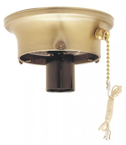 Westinghouse Lighting Model 70242 Glass Shade Holder, side view