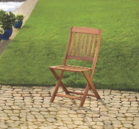 Linon Home Decor Foldable Patio Chair