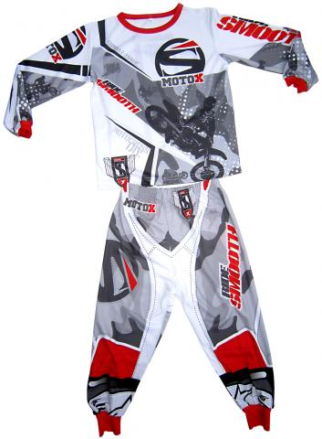 """Ride Smooth"" themed children's pajamas"