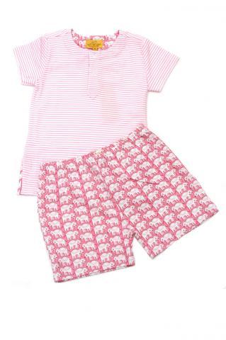 Short- sleeved Set (Hathi)