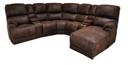 Example of Power Reclining Sectional