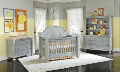 Baby's Dream Everything Nice Cribs and Furniture in Vintage Grey