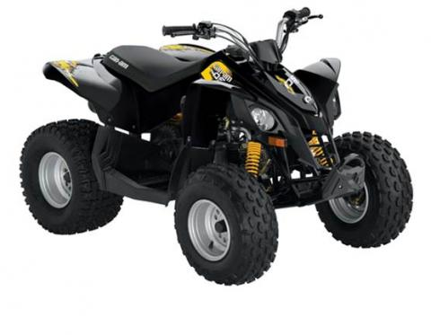 Can Am DS 70 & Can Am DS 90 (Black)