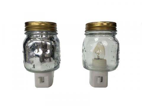 Mason Jar Night Lights