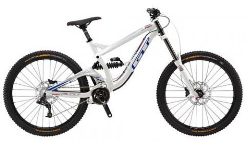 2015 GT Fury Elite downhill mountain bicycle