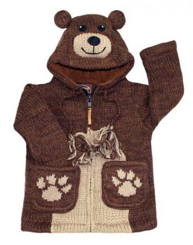 Children's Animal-Themed Sweater