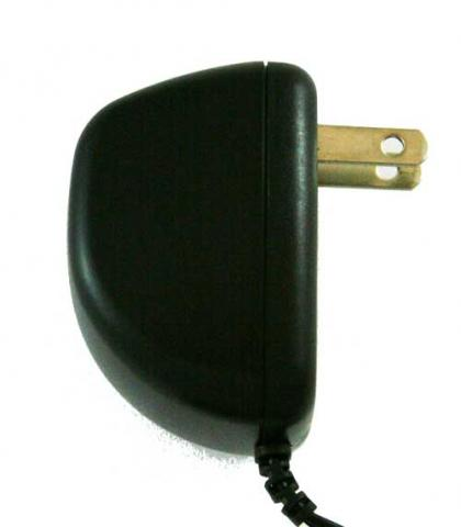 Ambient Weather radio AC power adapter side view