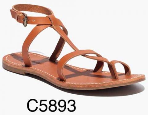 Sightseer T-Strap Toe-Loop Sandal