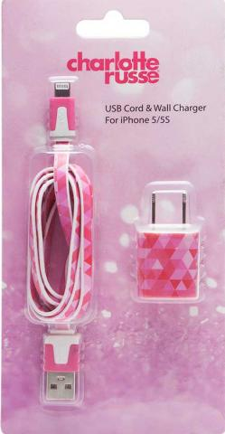 Recalled USB Cord & Wall Charger