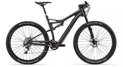 Example of a Cannondale mountain bike with an OPI stem/steering tube.