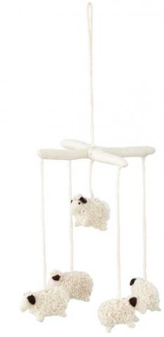 Land of Nod Follow the Herd Sheep Mobile
