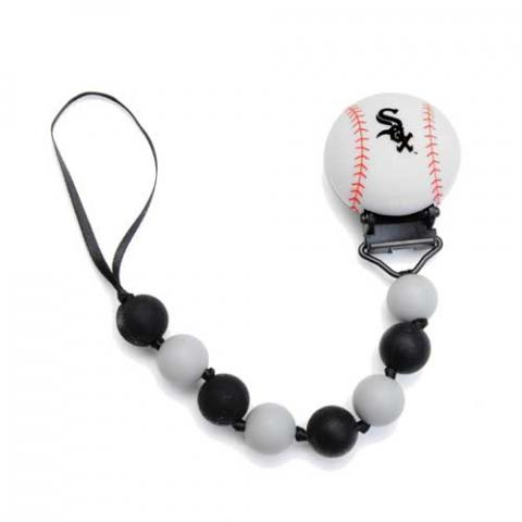 Chewbeads Pacifier Clip – Major League Baseball Theme