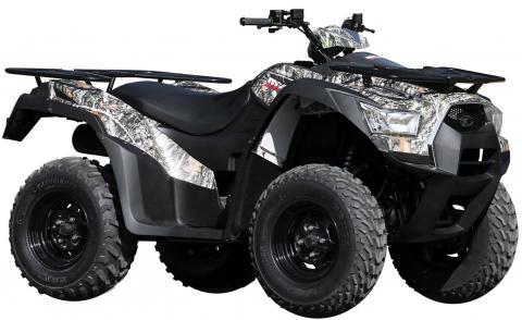 Model Year 2015 KYMCO MXU 700 Camo.