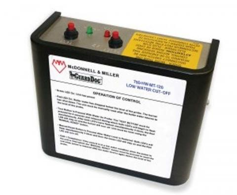 McDonnell & Miller low water cut-off control for hot water and steam boilers