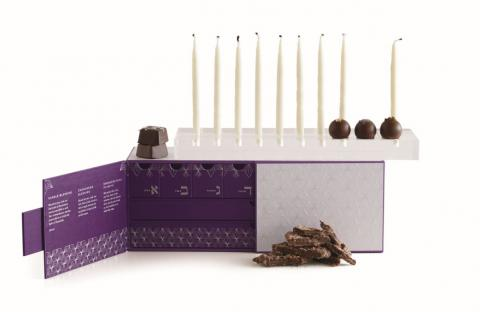 Vosges Haut-Chocolat Festival of Lights Chanukkah Gift Box set