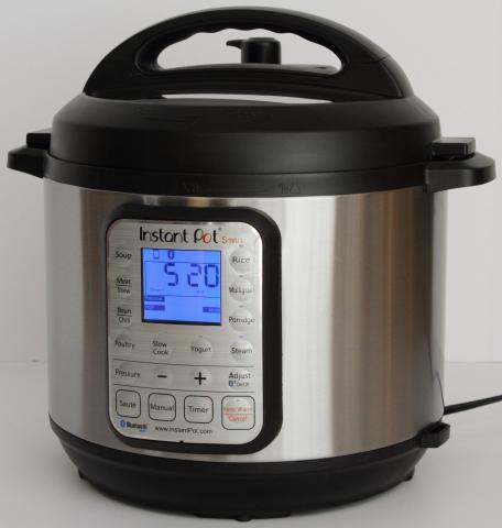 "Instant Pot ""Smart"" model pressure cooker"