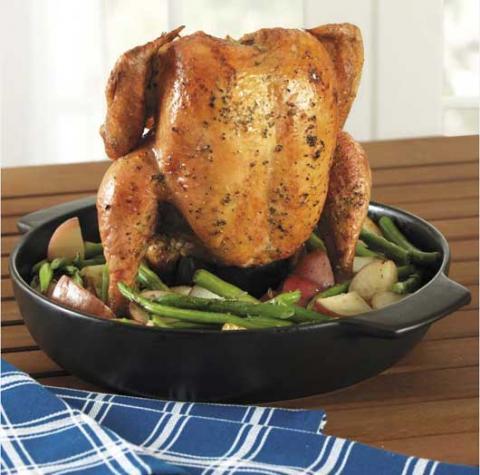 CHEFS recalled vertical chicken roaster