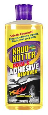Krud Kutter® Decal & Adhesive Remover  (8 oz flip-top)