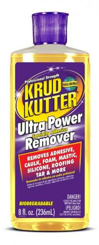 Krud Kutter® Ultra Power Specialty Adhesive Remover (8 oz. flip-top)
