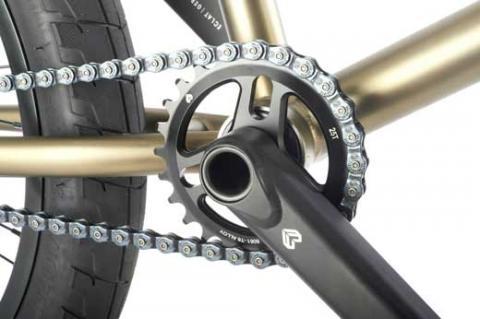 WeThePeople Envy BMX Bicycle with ECLAT Aeon BMX crankset