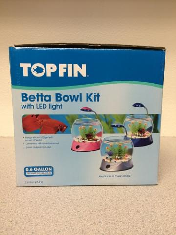 Betta Bowl Kit Packaging