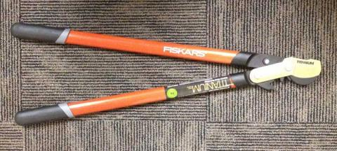 Recalled Fiskars Bypass Lopper Shears