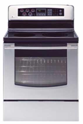 Recalled LG Electric Ranges