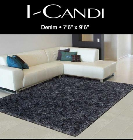 Recalled Nourison I-CANDI Collection polyester shag rug