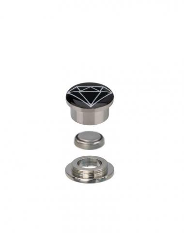 SalesOne Light Up Ear Plug with Diamond Logo (Side View)