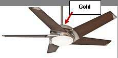 Casablanca ceiling fan model and date code location