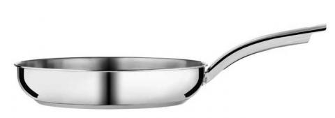 8- and 10-inch stainless steel frying pan