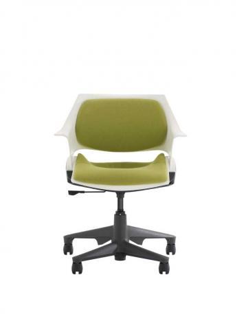 Steelcase swivel chair 1 (green)