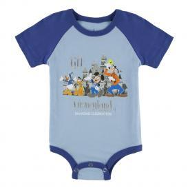 Disneyland 60th Infant Bodysuit